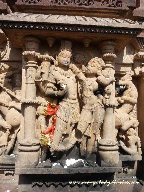 Carvings at Sachiyan Temple
