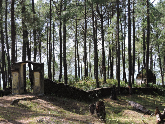 Ancient Temples in Dhaulchhina