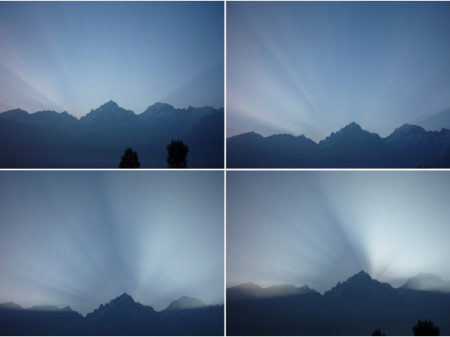 Sunrise at Kalpa