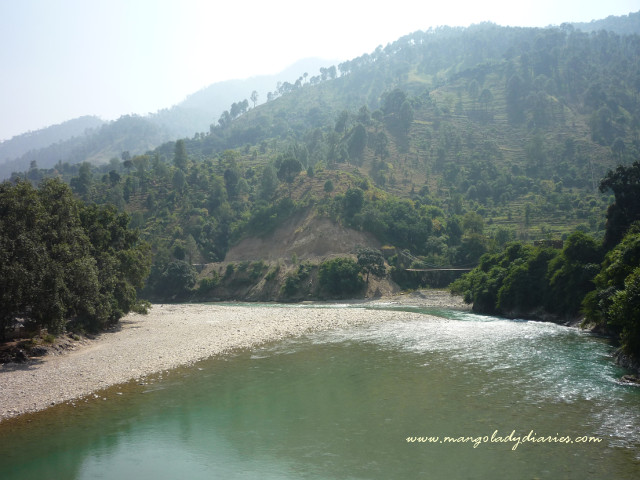Sarju River from Shera Ghat