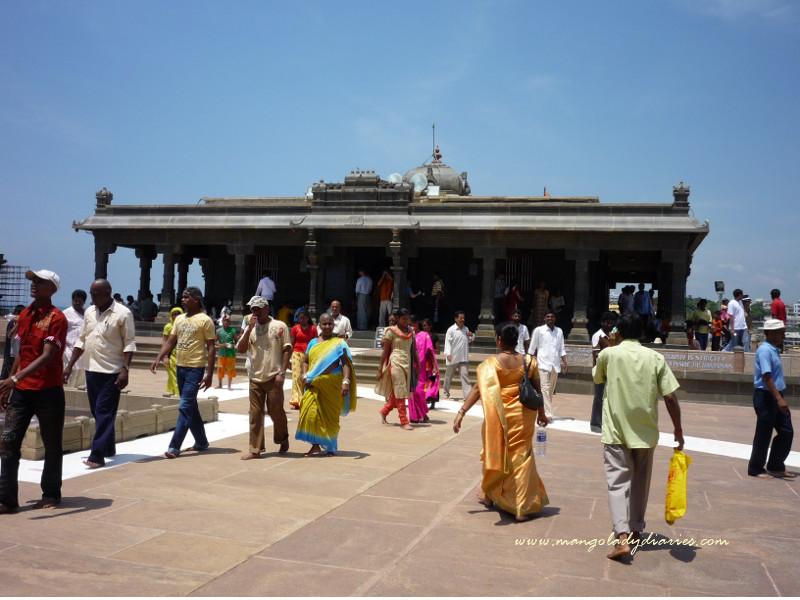 Shri Pada Mandapam on Vivekananda Rock