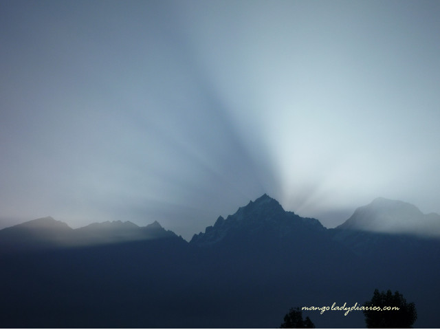 Sunrise at Kinnaur Kailash
