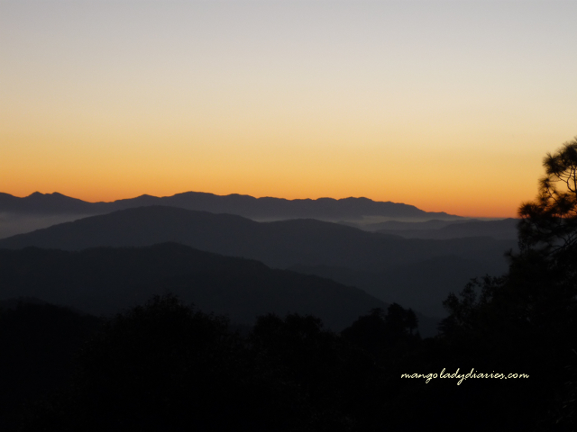 Sunset at Binsar