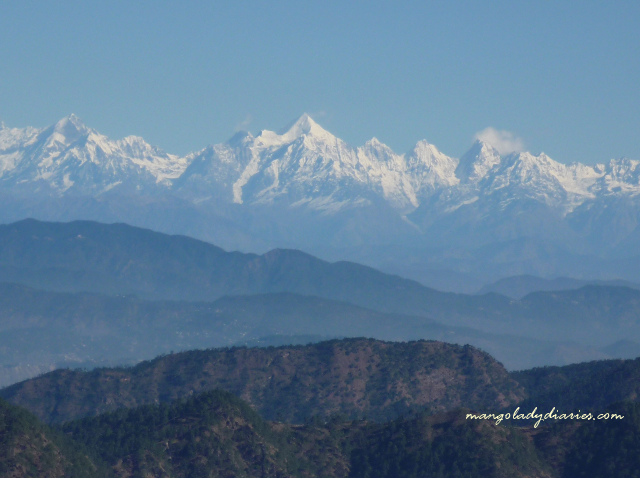 The view of the Himalayan ranges from SItlakhet