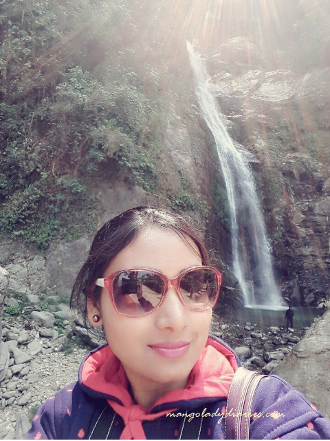 Selfie with Chhangi Falls!