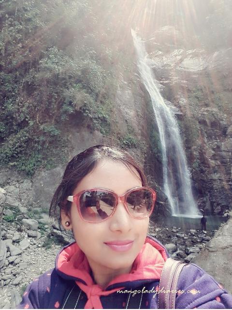 Selfie with Chhangi Falls!