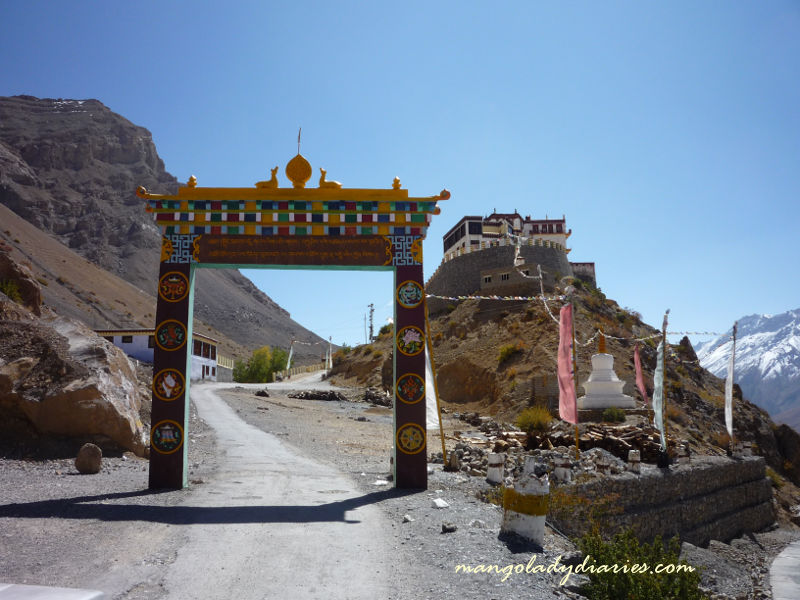 Road to Monastery