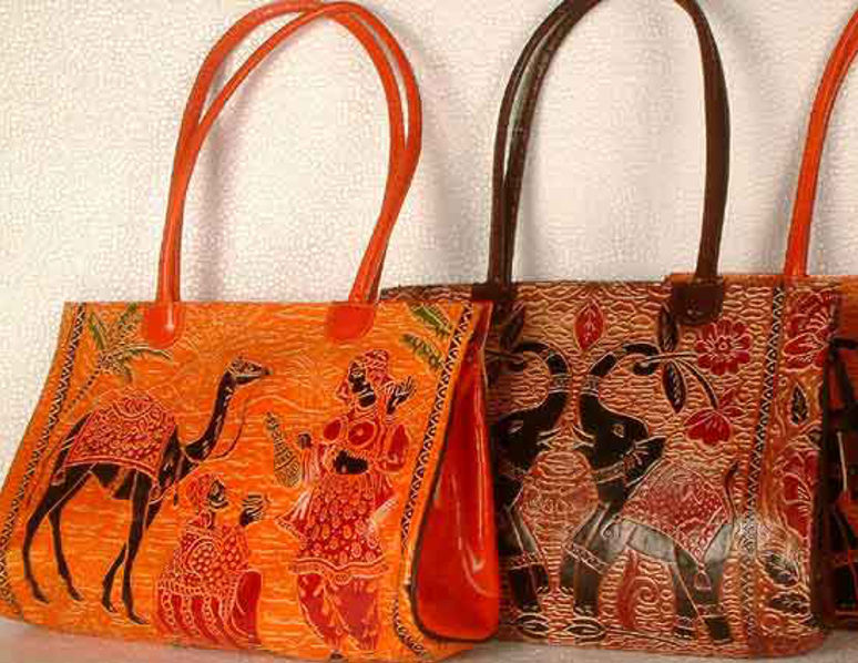 Shantiniketan leather bags