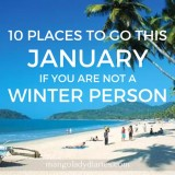 10 Places to go this January