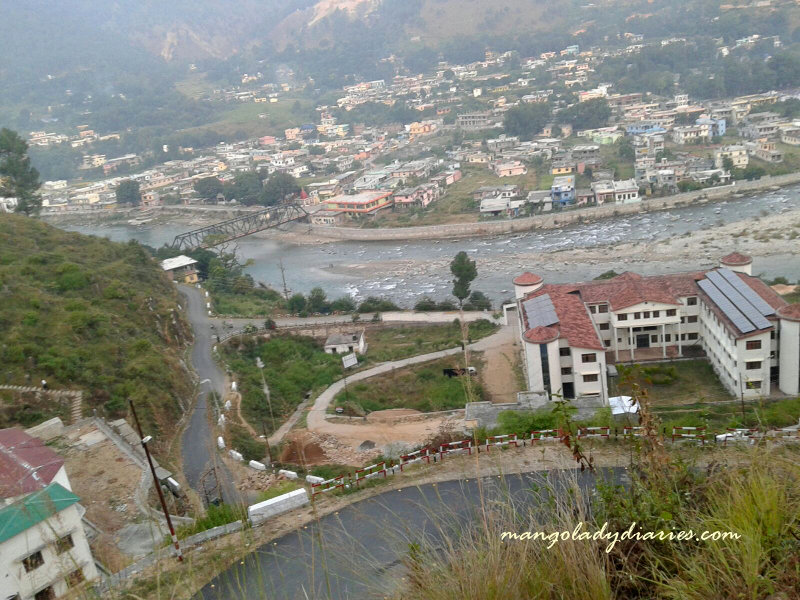 View of Bageshwar