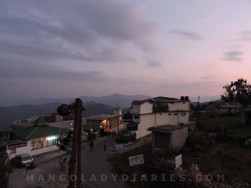 Chaukori after sunset