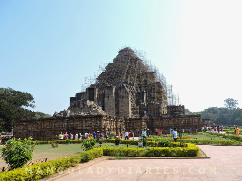 Behind Konark Sun Temple