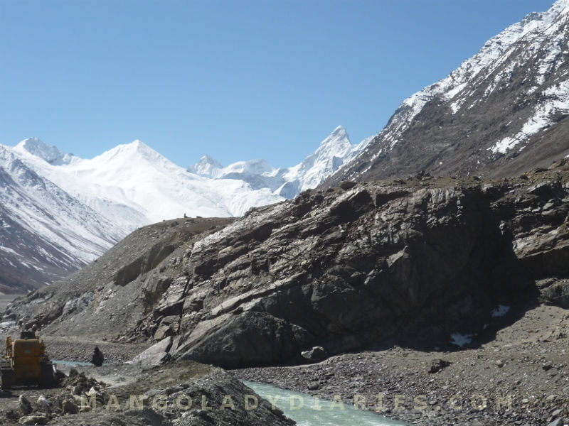 Road after Kunzum Pass