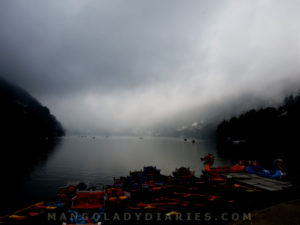 Clouds over Nainital Lake