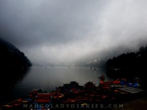 Clouds over Nainital Lake
