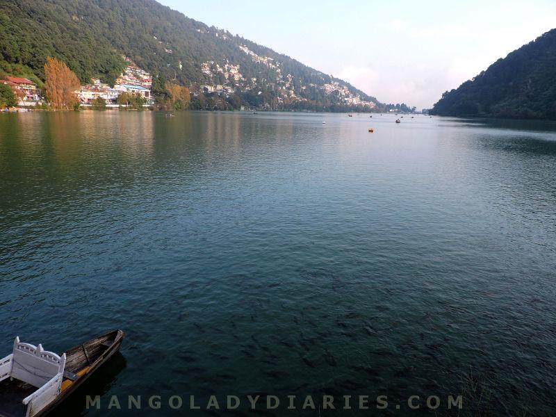 Nainital view from Mallital