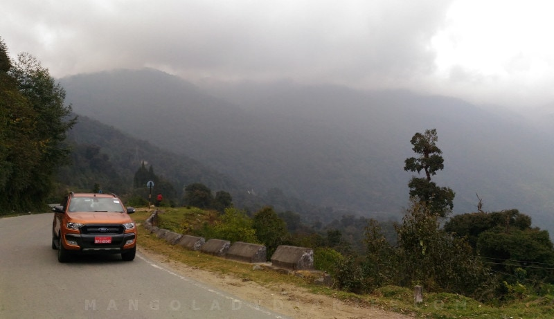 Towards Thimphu