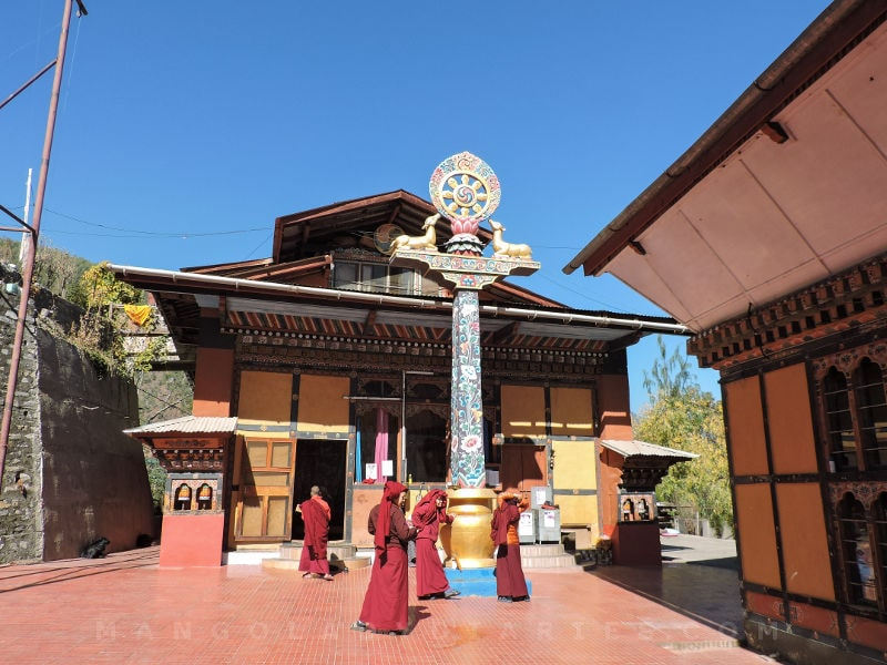 Thangtong Dewachen Nunnery Thimphu