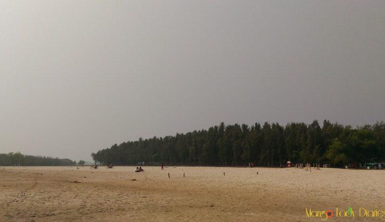 Sand beach in Hijli