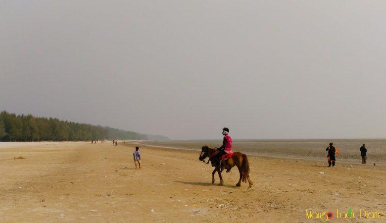 Horse ride on Hijli beach